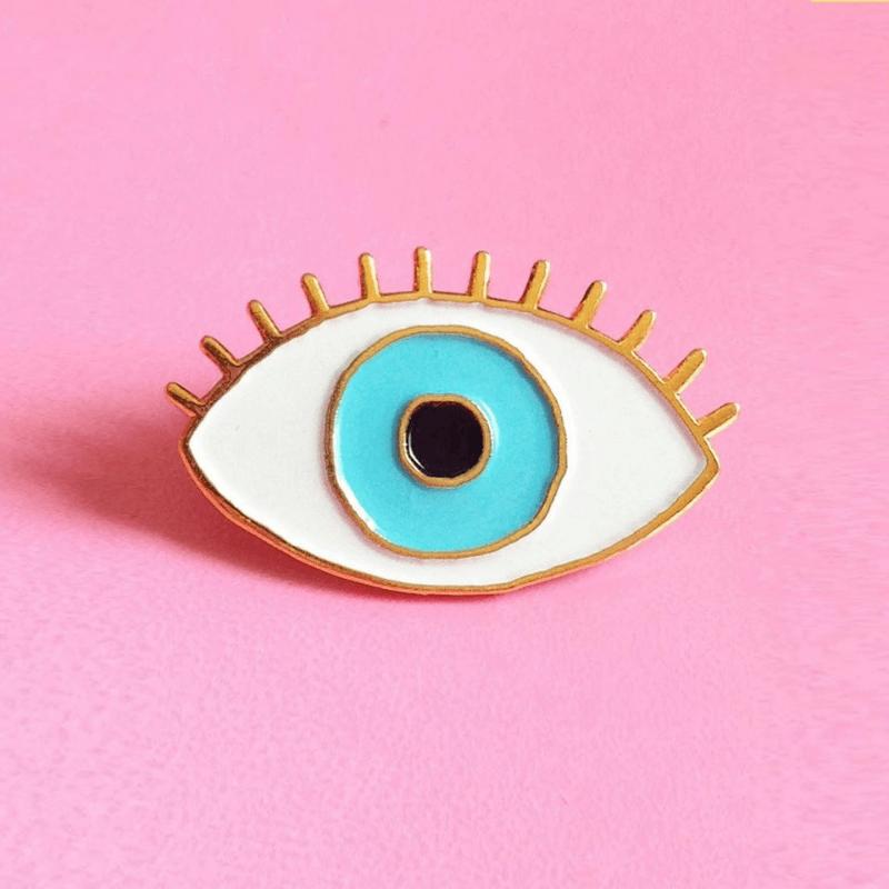 "Pin's Coucou Suzette icône ""Oeil"""