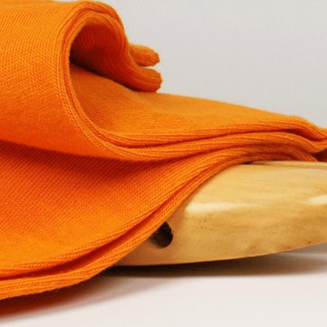 Chaussettes hautes colorées unisexe Archiduchesse De Ville Orange Mandarine