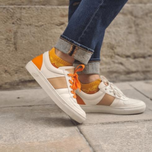 Chaussures Eco responsable Unisexe City orange wax