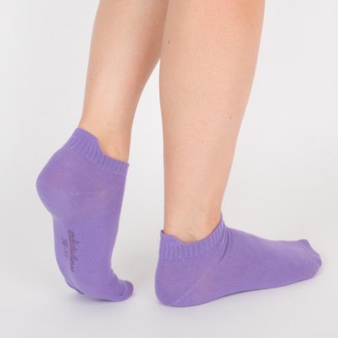 """Chaussettes socquettes courtes violettes unisexe Archiduchesse """"Violet Violette"""""""