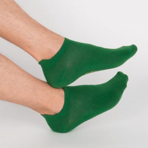 """Chaussettes socquettes courtes vertes unisexe Archiduchesse """"Vert Anglais"""""""