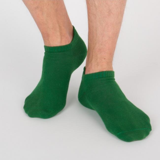 """Chaussettes socquettes courtes vertes unisexe Archiduchesse """"Vert Angais"""""""