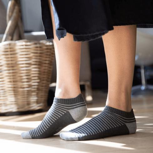 """Chaussettes socquettes courtes colorées unisexe Archiduchesse """"Ecume"""""""