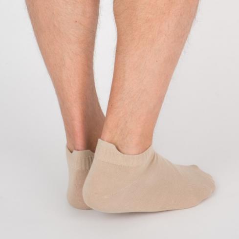 """Chaussettes socquettes courtes colorées unisexe Archiduchesse """"Café au Lait"""""""