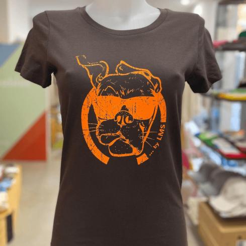 """Tee shirt femme """"Chocorange"""" en coton bio By LMS Toulon"""