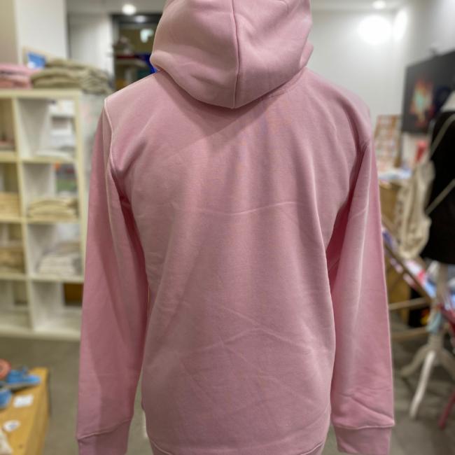 """Sweat en coton bio """"Planète Toulon"""" rose modèle unisexe ...by LMS"""