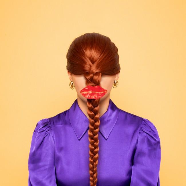 """barrette cheveux originale """"Bouche"""" de la marque Coucou Suzette"""