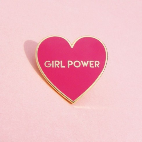 """Pin's """"Girl Power"""" Coucou Suzette"""