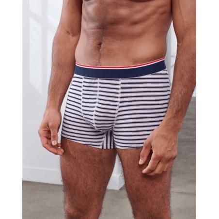 Caleçon homme fabrication française Le Marius petit club coton par Le Slip Français