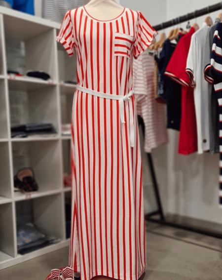 Robe légère casual Femme Le Slip Français Faye fabriqué en france en lyocell et coton