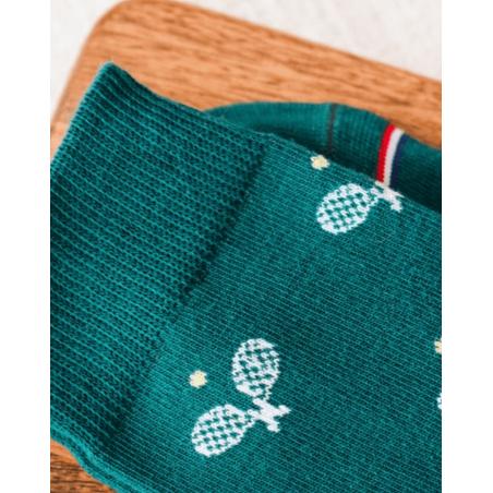Chaussettes dépareillées mixtes homme Les Roland tennis Sock Socket