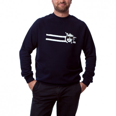 Sweat shirt BCBG moderne Homme en coton bio Guell vintage