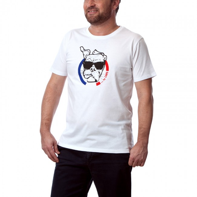 """Tee shirt homme stylé blanc """"Guell"""""""