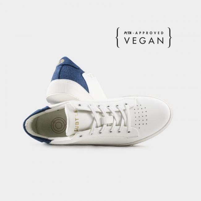 Chaussures véganes Unisexe Epsilon Indigo approuvé Peta