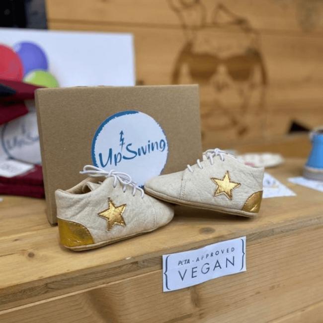 chaussures souples bébé bio en pinatex Twinkle