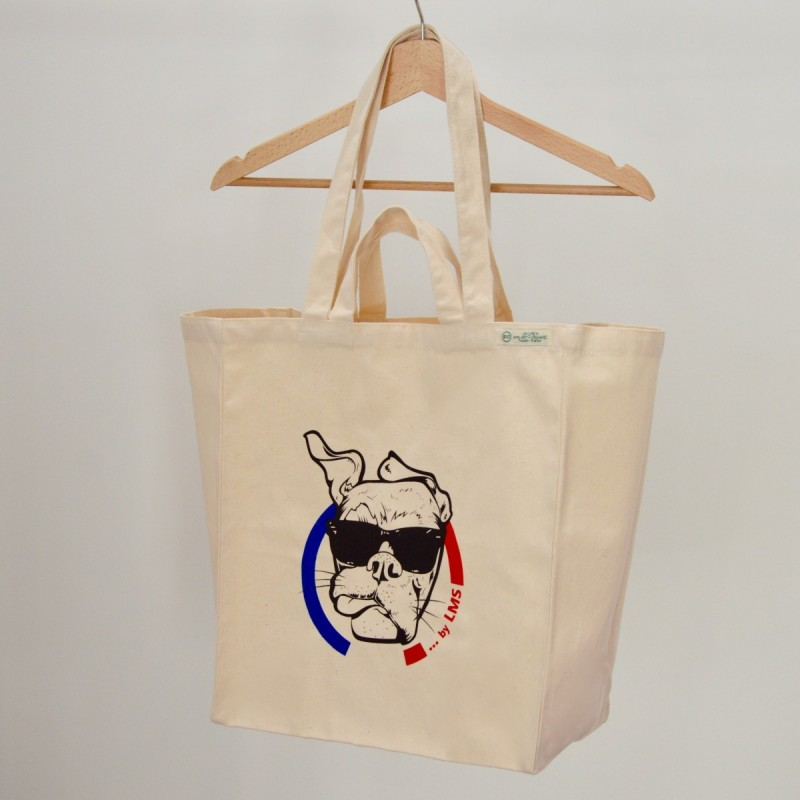 """Sac Cabas by LMS coton bio """"Guell"""" BBR"""
