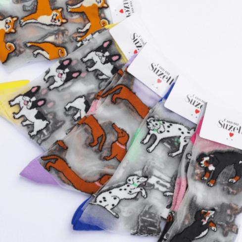 Chaussettes transparentes mixte Coucou Suzette